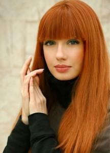 как осветлить светло рыжие волосы