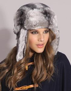 Зимняя шапка-ушанка 2013